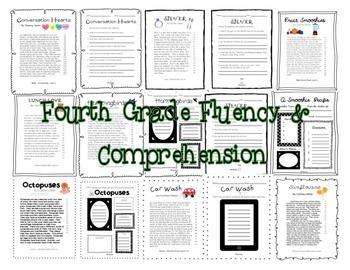 Fluency & Comprehension Reading Intervention Bundle for Grades 2-4
