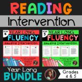 Fluency & Comprehension Reading Intervention Bundle for Grades 4-5