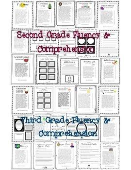 Fluency & Comprehension Reading Intervention Bundle for Grades K-4