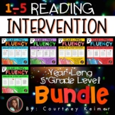 Fluency & Comprehension Reading Intervention Mega Bundle for Grades 1-5