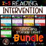 Fluency & Comprehension Reading Intervention Mega Bundle f