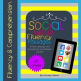 Fluency & Comprehension Reading Intervention {Social Media} Sixth Grade Level