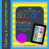 Fluency & Comprehension Reading Intervention {Social Media