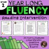 Reading Intervention Fluency Passages & Comprehension - 2nd Grade Level