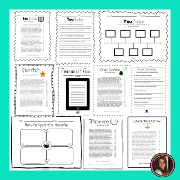 Reading Intervention Fluency Passages & Comprehension - 6th Grade Level