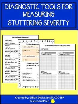 Diagnostic Tools to Evaluate Stuttering Severity