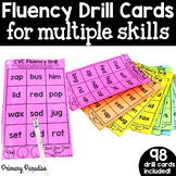 Fluency Drill Cards for Multiple Skills: Perfect for Guide