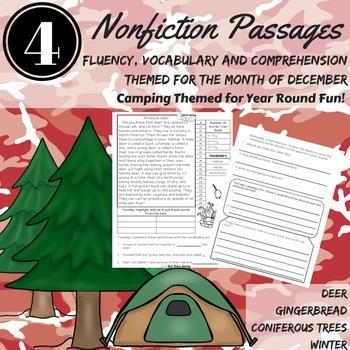 Reading Comprehension Passages December Nonfiction Vocabulary