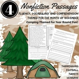 Reading Comprehension Passages and Questions NOVEMBER