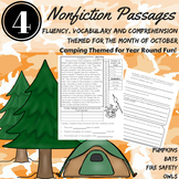 Reading Comprehension Passages and Questions October