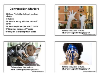 Conversation Starters Photo Cards