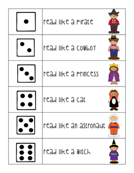 Fluency & Expression Printables