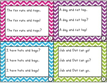 Fluency Expression Task Cards {120 Task Cards, Dolch Sight Word Practice}