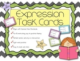 Fluency Expression Task Cards {120 Task Cards, Dolch Sight
