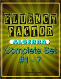 Fluency Factor - Algebra Complete 1-7