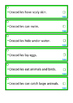 Reptiles Non-Fiction Reading Fluency Facts strips,  Autism