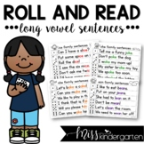 Long Vowel Fluency Sentences Roll and Read