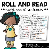 Roll and Read Short Vowel Sentences