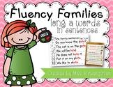 Fluency Families Words in Sentences {long a words}