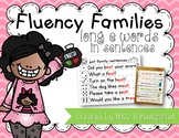 Fluency Families Words in Sentences {long e words}