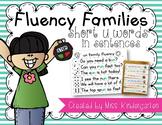 Fluency Families Words in Sentences {short u words}