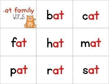 Fluency Families {freebie}
