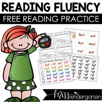 Free Reading Fluency Practice