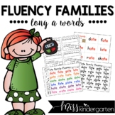 Fluency Families {long a words}