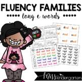 Fluency Families {long e words}