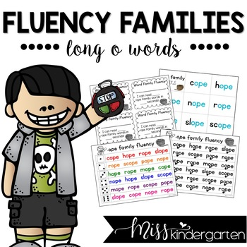 Fluency Families {long o words}