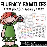 Reading Fluency Practice Short a Words