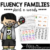 Reading Fluency Practice Short o Words