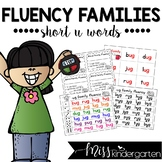 Reading Fluency Practice Short u Words