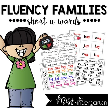 Fluency Families {short u words}
