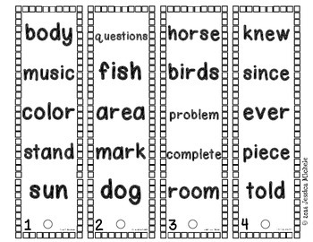 Fluency Fans: Fry Instant Words {Fourth 100}