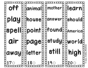 Fluency Fans: Fry Instant Words {Second 100}