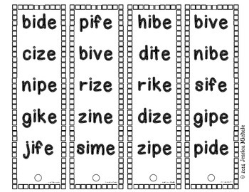 Fluency Fans: Nonsense Words {CVCe}