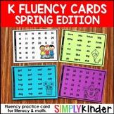 Kindergarten Fluency - Spring
