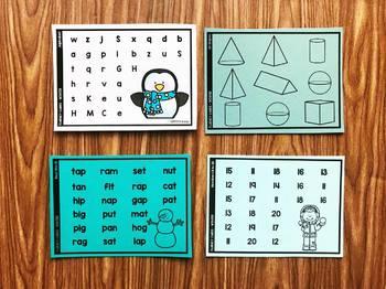Fluency Fast - Winter {Simply Kinder}
