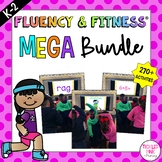 Fluency & Fitness Brain Breaks MEGA Bundle (K-3)