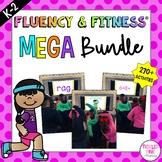 Fluency & Fitness® Brain Breaks MEGA BUNDLE (K-2) Distance