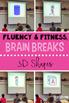 Math Fluency & Fitness Brain Breaks Bundle (K-3)