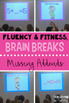 Math Fluency & Fitness Brain Breaks Bundle (K-2)