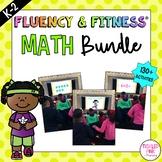 Math Fluency & Fitness® Brain Breaks BUNDLE (K-2)