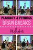 Reading Fluency & Fitness Brain Breaks Bundle (K-2)