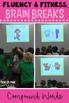 Reading Fluency & Fitness® Brain Breaks BUNDLE (K-2)