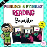Reading Fluency & Fitness Brain Breaks Bundle (K-2)