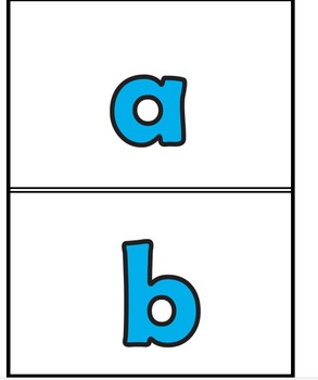 Fluency Flash Letters