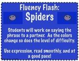 Fluency Flash Spiders