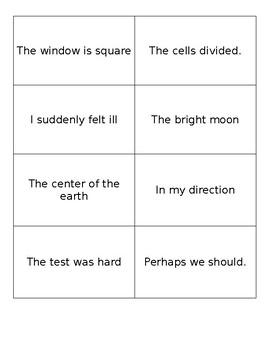 Fluency Flashcards (600 words)